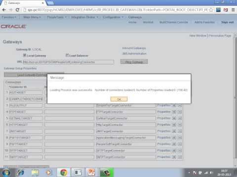 Video #10 - Configure Integration Broker in Peoplesoft | Peoplesoft Online Training