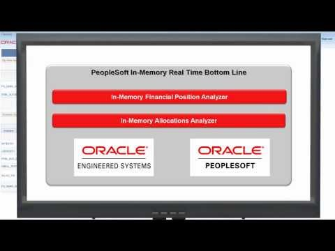 PeopleSoft In-Memory Real Time Bottom Line