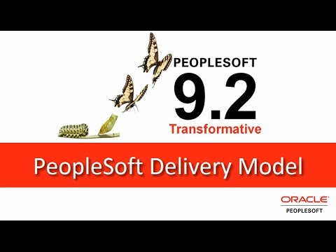 PeopleSoft 9.2 Delivery Model