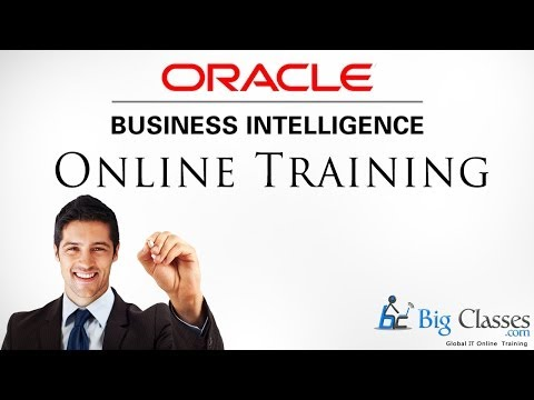 Oracle Business Intelligence 11g Online Training | OBIEE Online Tutorial Videos