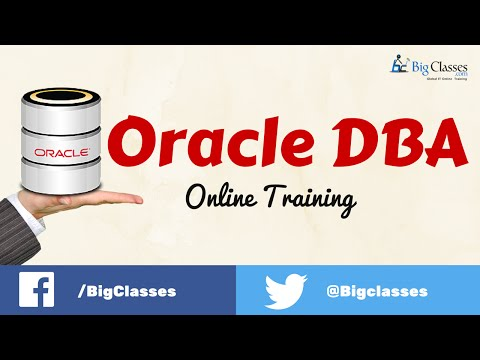 Oracle Database Administrator (DBA) Online Training Videos