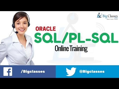 Oracle 11g Online Training | Oracle SQL - PL / SQL Tutorials for Beginners