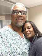 Me & my Wife Monique B4 surgery