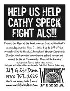Cathy Speck fights ALS
