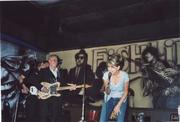 """Performing with a Texas favorite """"Dale Watson"""", in Bakersfield, CA"""