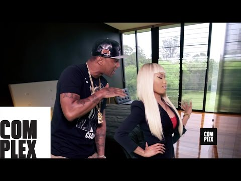 "Cam'ron f/ Nicki Minaj - ""So Bad"" Official Music Video Premiere 