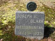 Clark, Joseph Co. E 20th NY Vol.