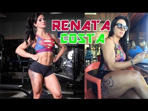RENATA COSTA - The Best Exercises for Toning Butt, Thighs and Hips