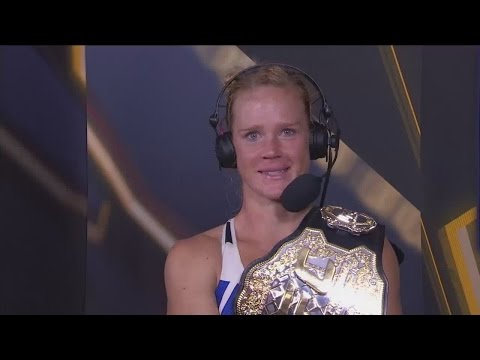 Holly Holm explains how she beat Ronda Rousey in UFC 193