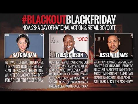 National Blackout: Black Friday Boycott