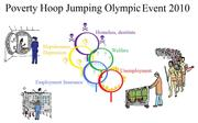 2010 Olympic Hoop Jumping for the poor