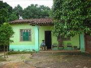 Seu George  em sua casa -  Estação Vila Jirau E.F.M.M.