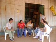 14 - Sr. Francisco Xavier e Sra Ivanete Ferreira, moradores antigos de Mutum Paraná, contando suas Histórias de Vida.