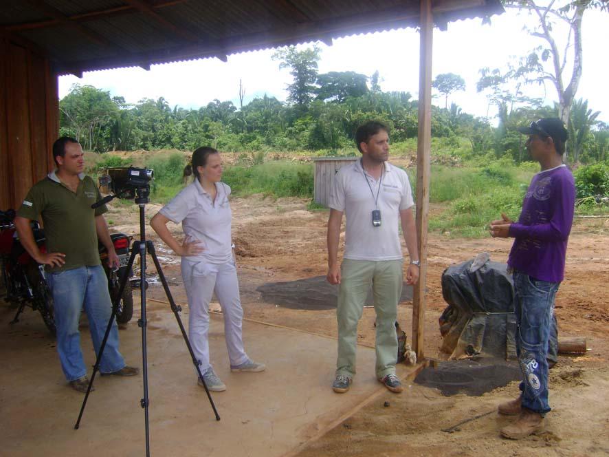 16 - Entrevista com operador de máquinas na mineração de cassiterita