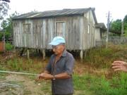 24 - Sr. João Artesão, confeccionando redes para pesca
