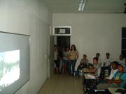 Exposição Oficina AHE Jirau na E.M.E.F Nossa Sra de Nazaré