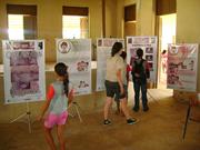 Exposição Oficina AHE Jirau em Abunã