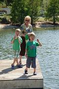 Lois Jane and Grandkids