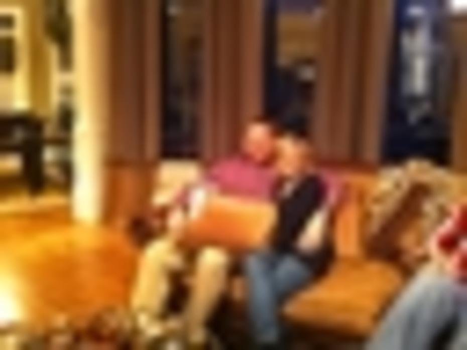 Christmas 2010 Brandon and Cindy
