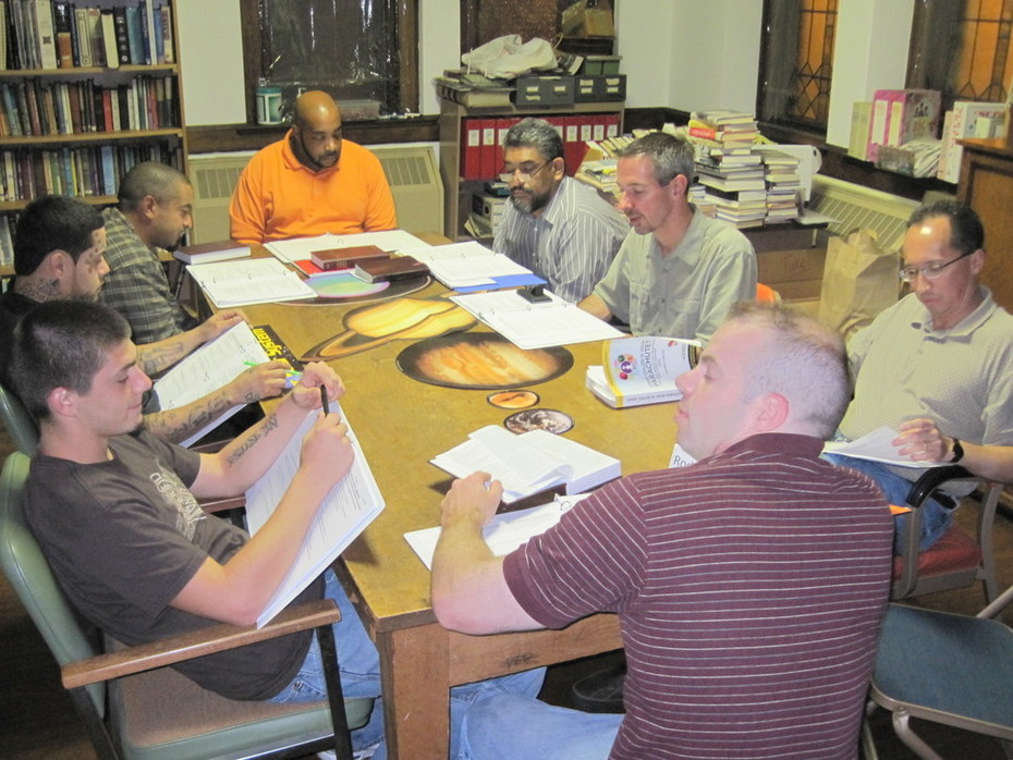Men's Group Discussion