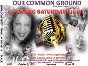 10-03 Open Mic Saturday Night