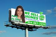 Patty Da Silva Billboard Advertising