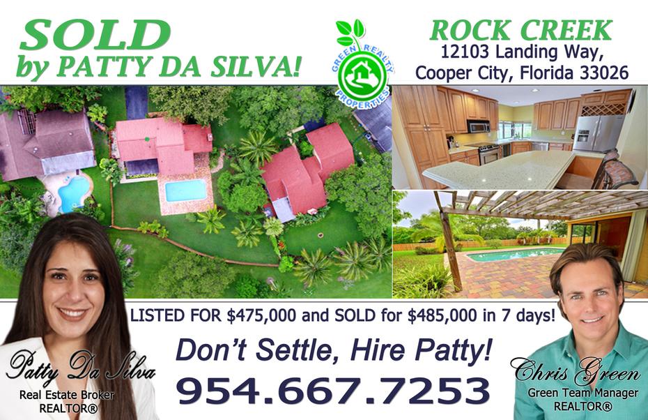 Rock Creek Realtors   Homes For Sale in Rock Creek Cooper City, Rock Creek Real Estate