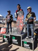 BMX Dirt Dennis Enarson, Brandon Dosch, Brett Banasiewicz