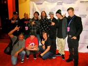 Pro Riders at The Crusty Demons Movie Premiere Apr. 2012