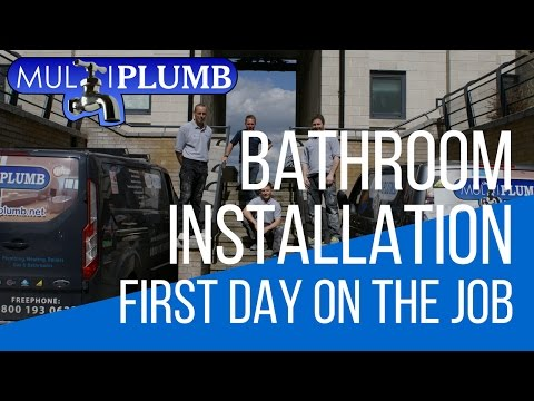 Greenwich Bathroom Installation | First Day Bathroom Installation in Greenwich London