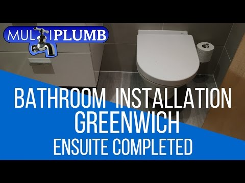 Greenwich Bathroom Installation | Ensuite Bathroom Complete in Greenwich London