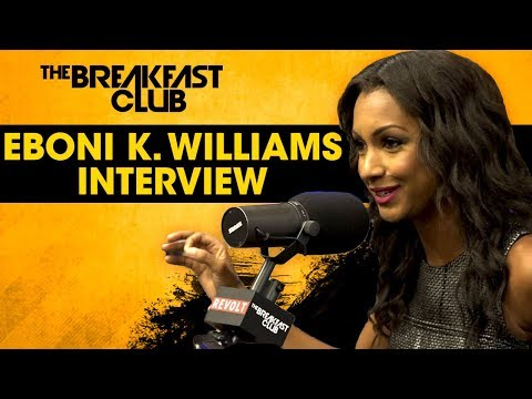 Eboni K. Williams Discusses Powerful Women In The Workplace, Her Role On Fox News & More