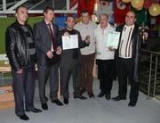 Организаторы, судейская бригада и призеры турнира Этномир 2009.