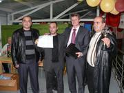 Призеры турнира Этномир 2009.