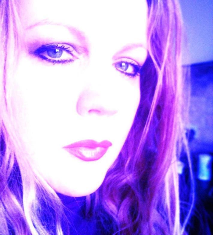 Sarah Purple portrait large
