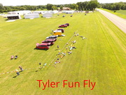 Tyler Fun Fly flightline