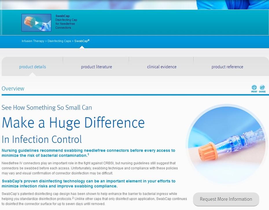 SwabCap® - ICU Medical