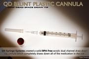 QD Blunt Plastic Cannula with BD Syringe