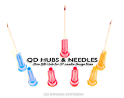 QD Syringe - QD Hubs and Needles