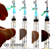 QD Syringe | Low Residual Volume QD Syringe and QD Needle Hubs