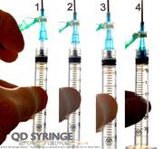 QD Syringe | Low Residual Volume QD Syringe and QD Needle Hubs