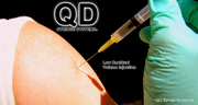 QD Syringe Photo - Low Dead Space and Residual Volume Injection