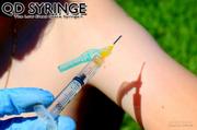 QD Syringe Low Dead Space Injection Syringe