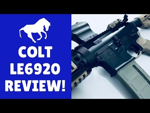 Colt LE6920 M4 Carbine Review (The Best AR 15 Under 1000 Dollars!)