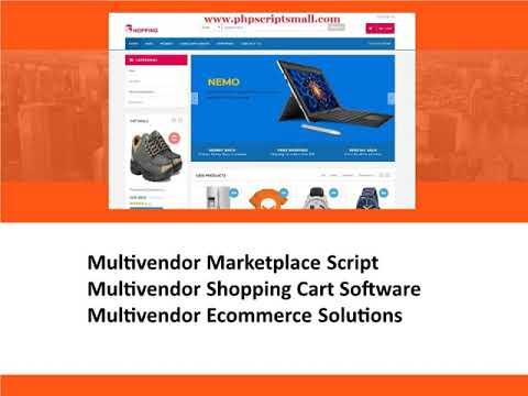 Multivendor Marketplace Script | Multivendor Shopping Cart Software