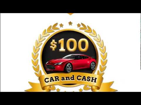 OWN YOUR DREAM CAR FOR $100!