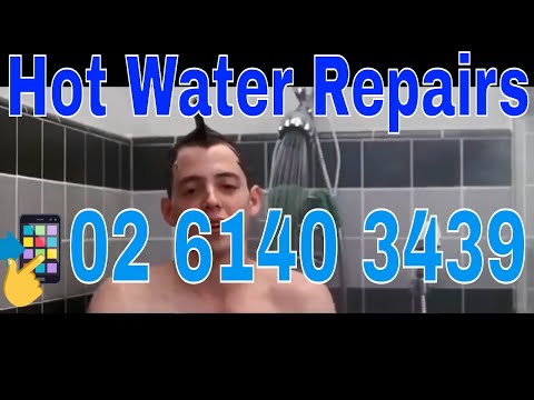 Hot Water Repairs Canberra | Call 02 6140 3439