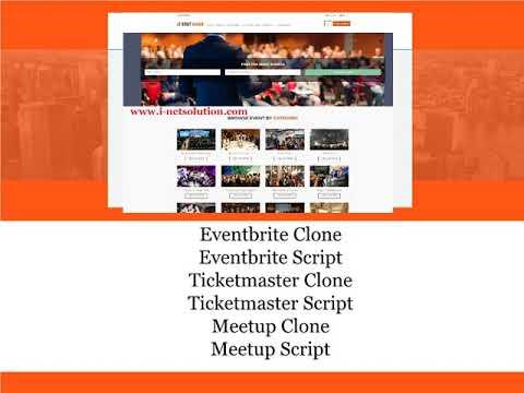Ticketmaster Script, Open Source Event Booking Script, Meetup Clone, Meetup Script