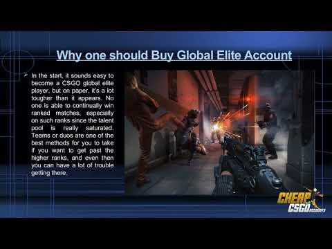Buy Global Elite Accounts and Achieve Global Elite Rank Easily