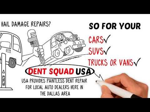 DentSquadUSA   Auto Hail Damage Repair Specialist